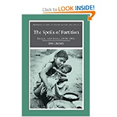 The Spoils of Partition: Bengal and India, 1947-1967 (Cambridge Studies in Indian History and Society)