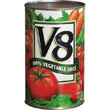 V8 Original 100% Vegetable Juice, 46 Ounce Cans (Pack Of 12) front-465776
