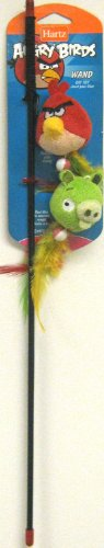 Image Hartz Angry Birds Wand Cat Toy     - Officially Licensed by Rovio