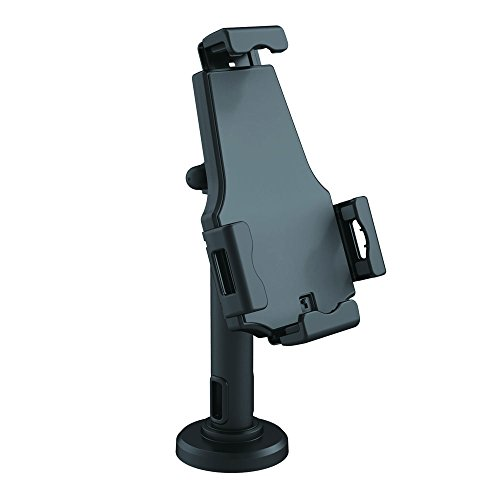 Pyle PSPADLK8 Universal Tamper-Proof Anti-Theft iPad Tablet Kiosk Stand Holder for Public Display with Cable Management, Fits Virtually All 8-10-Inc
