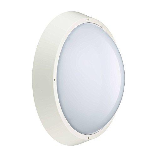 PHILIPS-LED-Aussenleuchte-Wandleuchte-rund-wei-weiss-18-Watt-Auen-Garage-IP65