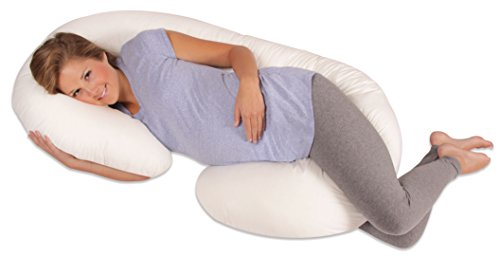 Leachco-Snoogle-Total-Body-Pillow-Ivory