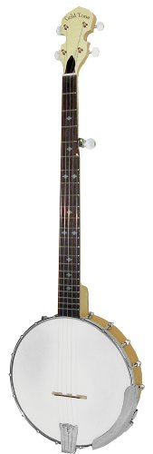 Gold Tone CC-100/L Cripple Creek Banjo (Left Handed, Five String, Clear Maple)