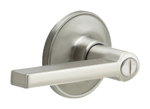 Dexter by Schlage J40SOL619 Solstice Bed and Bath Lever, Satin Nickel