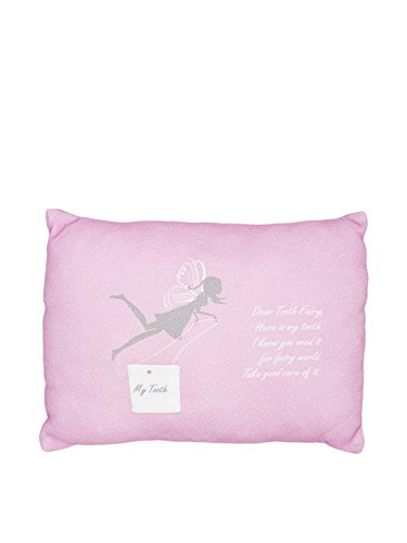 Milo and Lilirose Milk Tooth Cushion, Pink