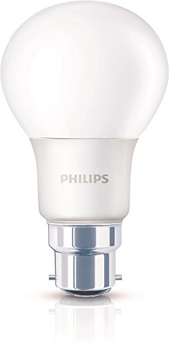 Philips-6W-B22-550L-LED-Light-(Warm-White)