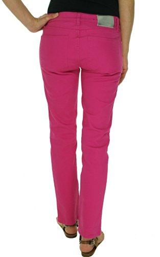 Lauren Jeans Co. Women's Modern Straight Ankle Jeans (2, Harbor Pink)