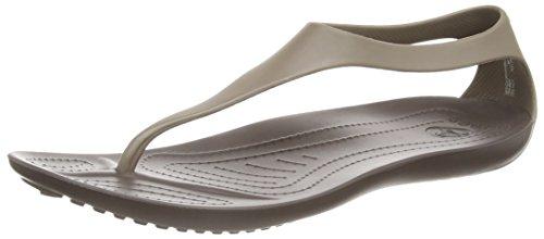 Crocs Sexi Flip / Sandali da donna, colore marrone (brown (espresso/espresso)), taglia 37/38