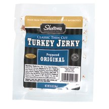 Shelton Poultry Turkey Jerky, Original, 0.50-Ounce (Pack of 12) ( Value Bulk Multi-pack)