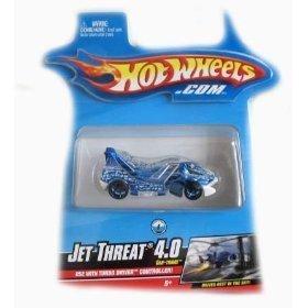 Buy Low Price Mattel Hotwheels Turbo Driver Jet Threat 4.0 Car-Tridge Figure (B001DQA2AI)