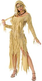 Mummy Queen Adult Costume (As Shown;One Size)