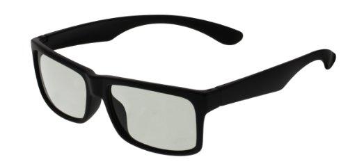 EX3D Eyewear TH0005 passive 3-D Brille schwarz