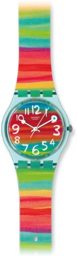 Swatch Ladies Color The Sky Multicolour Dial