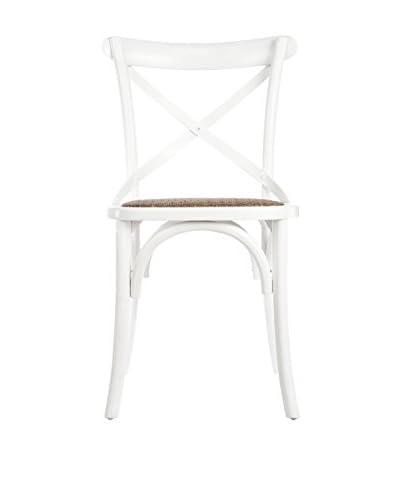 David Tutera Bistro Chair, White