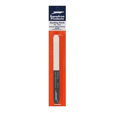 Squadron Products Sanding Stick, Tri-Grit