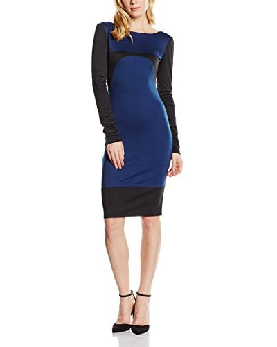 MAIOCCI Kleid  schwarz/blau L