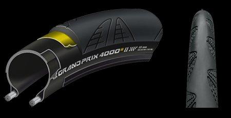 GrandPrix 4000 S II Bk-Bk skn fd 700x23C グランプリ4000S2 2本セット