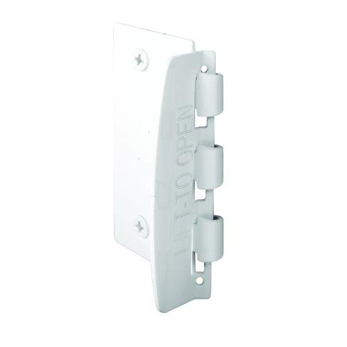 Prime-Line Products U 9888 Flip Action Steel Door Lock, White Finish (Toddler Door Lock compare prices)