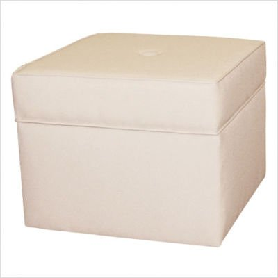 Storage Cube Ottoman in Natural