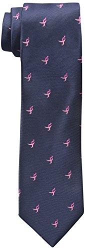 Susan G. Komen Men's Allover Logo Tie, Navy, One Size