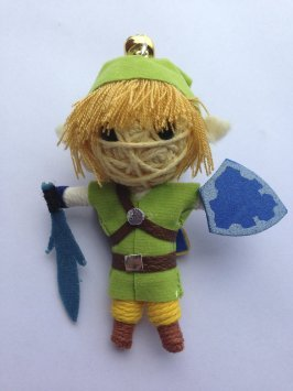 1 X Link Legend of Zelda: Skyward Sword Voodoo String Doll Keychain