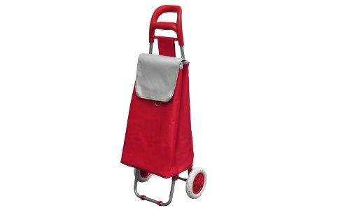 caddie poussette de march rouge 33 litres chariots de courses. Black Bedroom Furniture Sets. Home Design Ideas