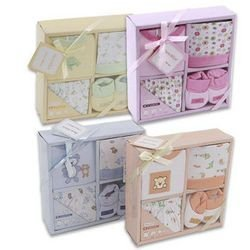 Baby Gift Set 4 Piece Layette Assorted