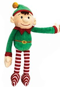 dangly elf 12cm red by Keel Toys