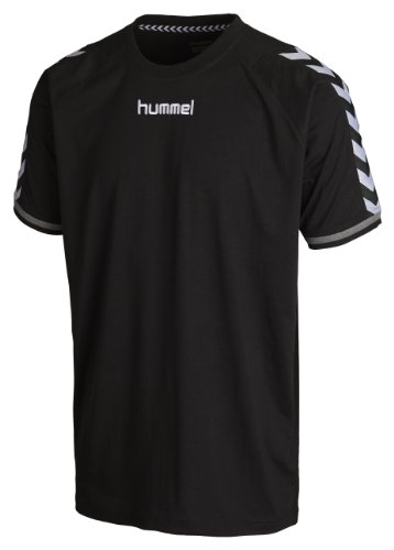 Hummel, Maglietta Stay Authentic, Nero (Black), L