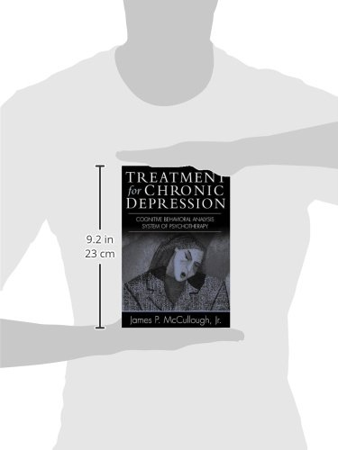 Treatment for Chronic Depression: Cognitive Behavioral Analysis System of Psychotherapy (CBASP): Cognitive Behavioural Analysis System of Psychotherapy