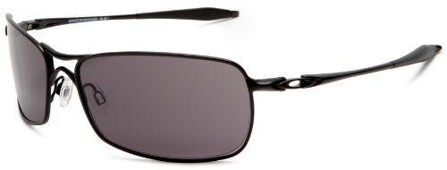 Oakley Men's Crosshair 2.0 Metal Sunglasses,Matte Black Frame/Warm Grey Lens,one size
