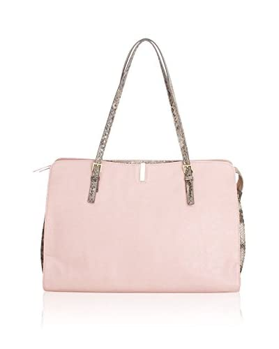Tutilo Women's Veritas Square Tote, Blush