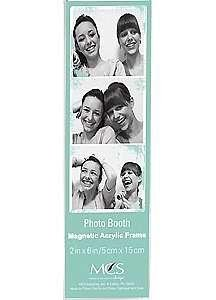 PHOTO BOOTH MAGNETIC acrylic frames Our price is for 3 pcs - 2x6