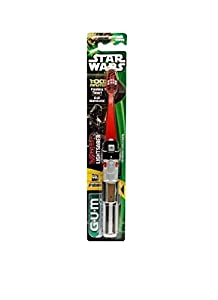 Gum Toothbrush Star Wars Flash Light,color may vary
