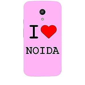 Skin4gadgets I love Noida Colour - Light Pink Phone Skin for MOTO G 2ND G