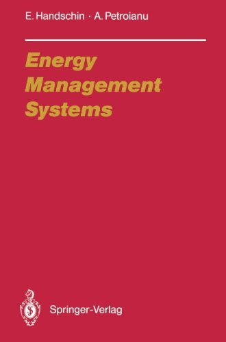 Energy Management Systems: Operation And Control Of Electric Energy Transmission Systems (Electric Energy Systems And Engineering Series)