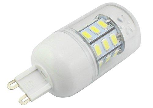 G9 6 Watt 350 Lumens Led Light Bulb 27 Smd 5630 Leds Omnibearing Lighting Cool White 5000K