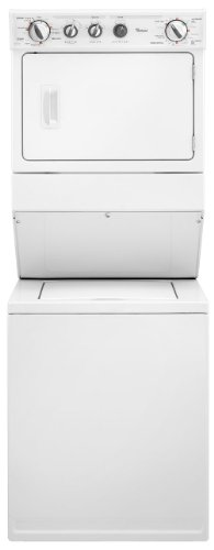 Whirlpool WET3300XQ 8.4 Cu. Ft. White Electric Washer/Dryer Combo
