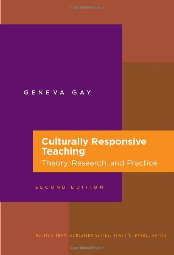 Culturally Responsive Teaching: Theory, Research, and...