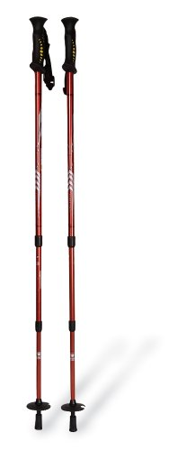 Mountainsmith Pyrite 7075 Trekking Poles, Red