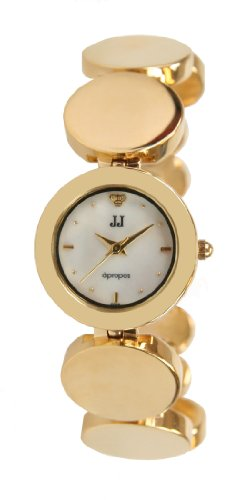 Jules Jurgensen Women's Gold-Tone Link Watch # JJ5000G