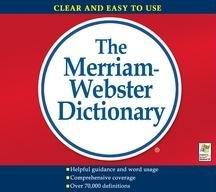 Merriam-Webster's Dictionary (Jewel Case)