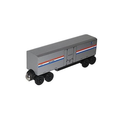 Shortline Railroad - Amtrak Hi-Cube Express Wooden Train Car - 501160