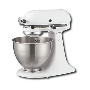 KitchenAid Classic Plus Stand Mixer, White