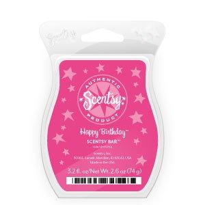Happy Birthday Scentsy Bar, Wickless Candle Wax, 3.2 Fl. Oz