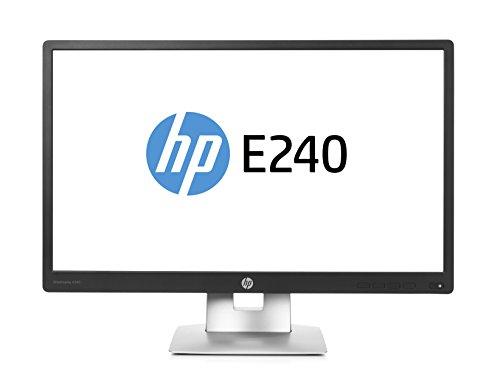 HP-EliteDisplay-E240-604-cm-238-Zoll-Monitor-VGA-HDMI-USB-7ms-Reaktionszeit-Full-HD-schwarzsilber