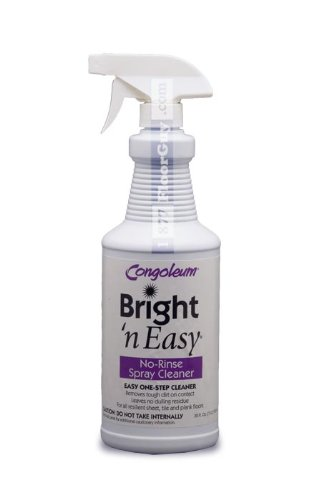 Congoleum Bright 'N Easy No-rinse Spray Cleaner (Ready-to-use), 32 Oz