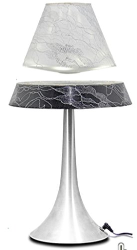 HNT Levitron Table Lamp for Office Decoration with White Lampshade