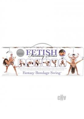 Fetish Fantasy Bondage Swing White (Package Of 4)
