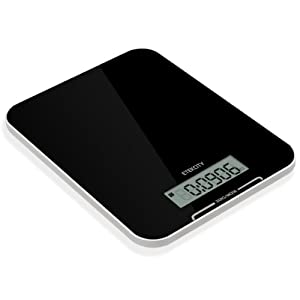 Etekcity Ultra Thin 22lb (10kg) Professional Digital Multifunction Kitchen Food Scale, LCD... by Etekcity